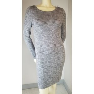 Tart Bodycon Casual Scoopneck Gray Dress,  S